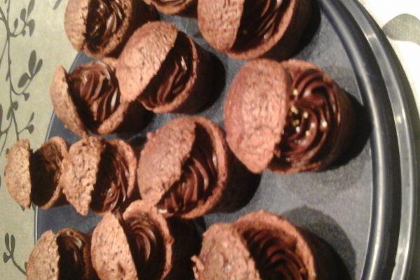 Cupcake tout chocolat