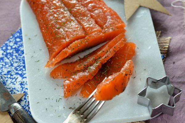 Recette Saumon gravlax maison