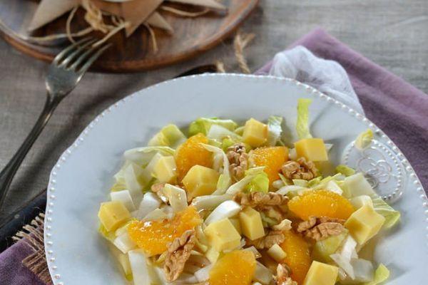 Recette Salade composÉe d'hiver aux endives et oranges