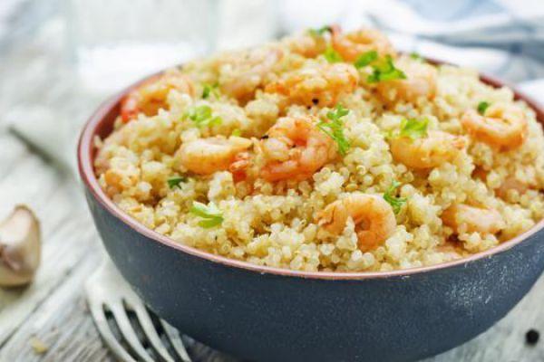 Recette Risotto de quinoa aux crevettes