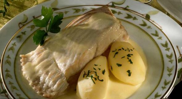 Recette Filet de turbot au beurre mousseux