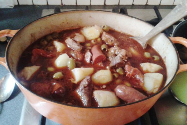 Recette Porc à la Portuguaise.