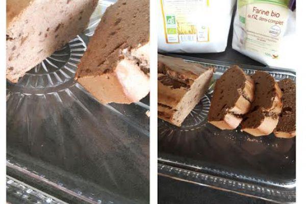 Recette Cake Cajou/Chataigne