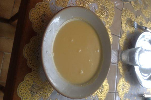 Recette Soupe potiron au lait de coco