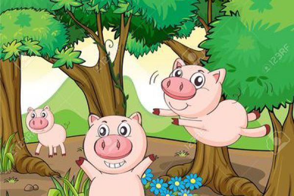 Recette Cochon en forêt d'automne