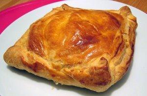 Recette Feuilleté de ris de veau au foie gras et aux noisettes
