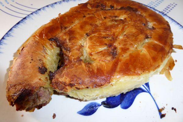 Recette Börek boeuf et pommes de terre