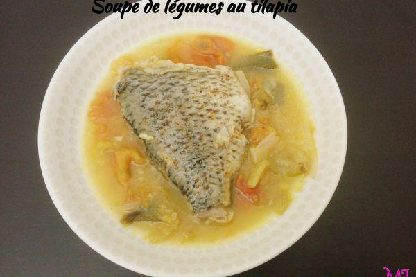 Recette Bouillon de légumes au tilapia