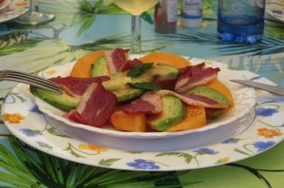 Recette Assiette de melon charentais