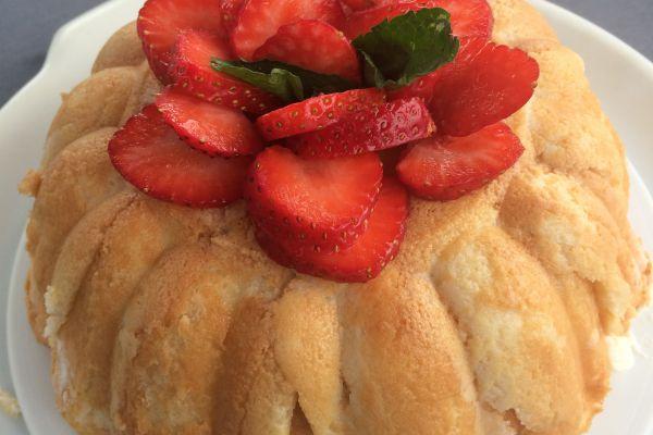 Recette Charlotte légère aux fraises