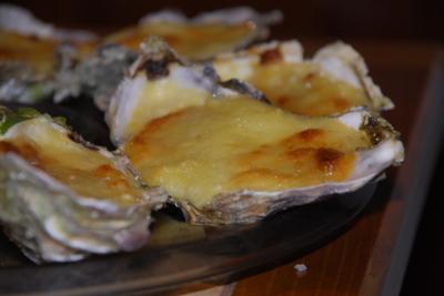 Recette Huîtres chaudes au camembert