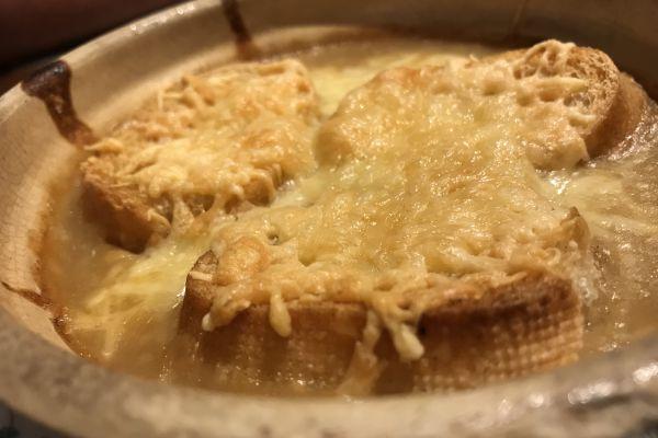 Recette Soupe à l'oignon gratinée
