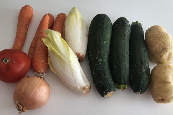 Ma soupe de légumes moches