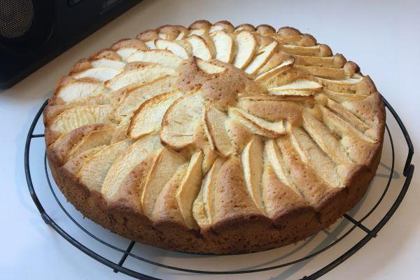 Recette Gâteau léger aux pommes