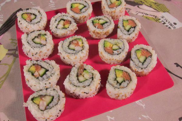 Uramaki Sushi (ou Maki inversé)