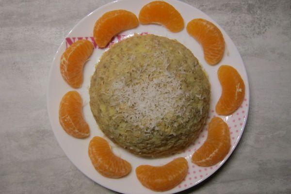 Recette Bowl cake banane et noix de coco