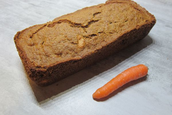 Recette Cake à la carotte
