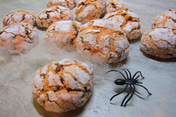 Recette Crinkles à l'orange [ Halloween ]