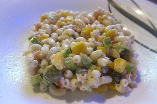 Recette Salade de coquillettes