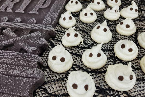 Recette Meringues fantômes [ Halloween ]