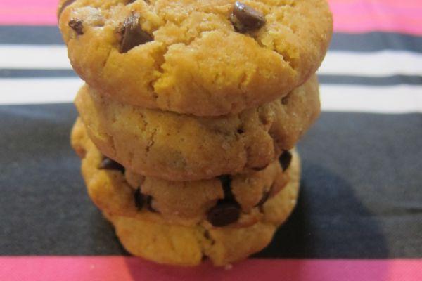 Recette Cookies au beurre de cacahuète