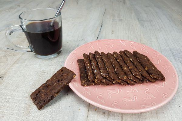 Recette Biscuit petit déjeuner au café et cacao