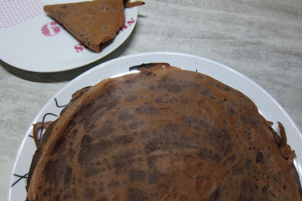 Recette Crêpes au chocolat