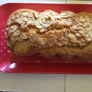 Recette Cake moelleux aux amandes