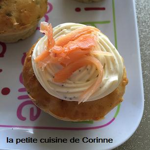 Recette Cupcakes saumon fumé