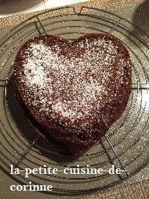 Recette Gâteau au chocolat de christophe Felder