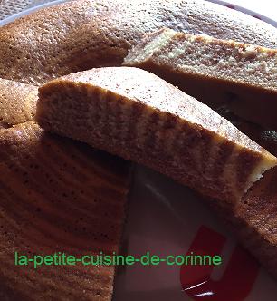 Recette Gâteau Zébré
