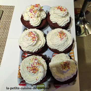 Recette Cupcakes choco-latte Tupperware