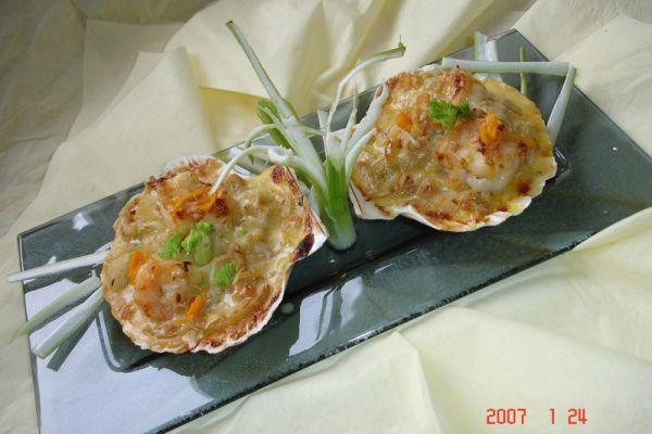 Recette Cassolette de St Jacques aux endives a l'orange