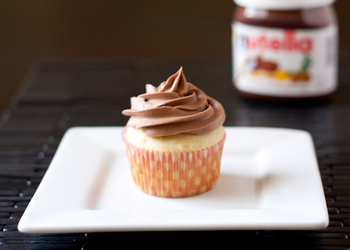Recette Cupcakes au Nutella