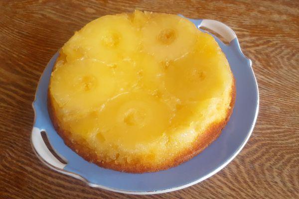 Recette Gâteau Ananas Antillais Caramélisé