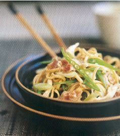 Recette Chow mein
