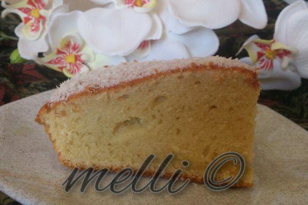 Gâteau a l'eau de fleurs d'oranger