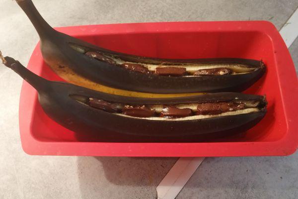 Banane au four