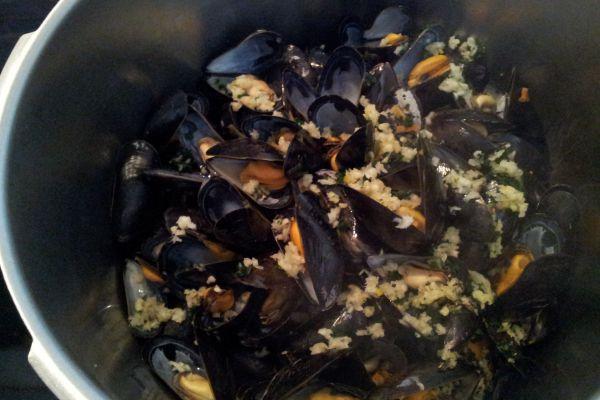 Recette Potage aux moules