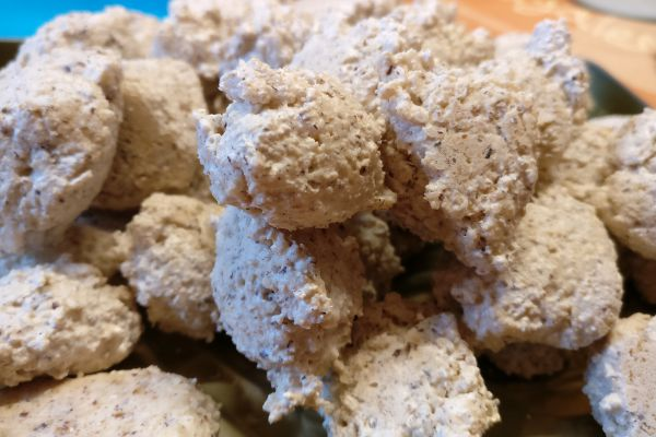 Recette Rochers noix de cocos et noisettes