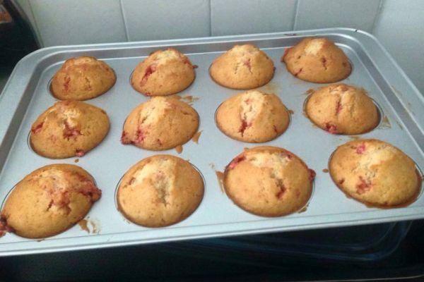 Recette muffin praline concassée