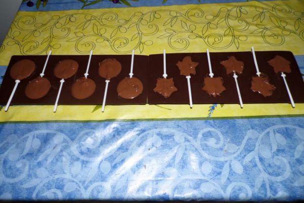 Recette sucette en chocolat