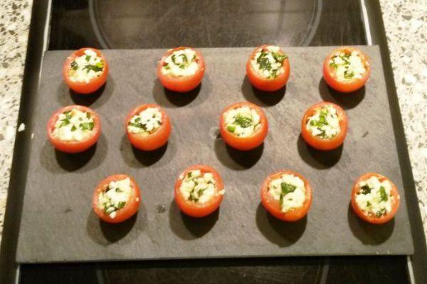 Recette Tomates mozza revisitées