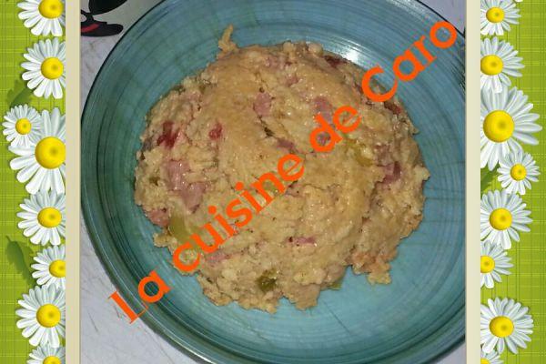Recette Bowlcake salé aux flocons d'avoine