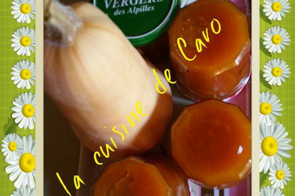 Confiture butternut-vanille