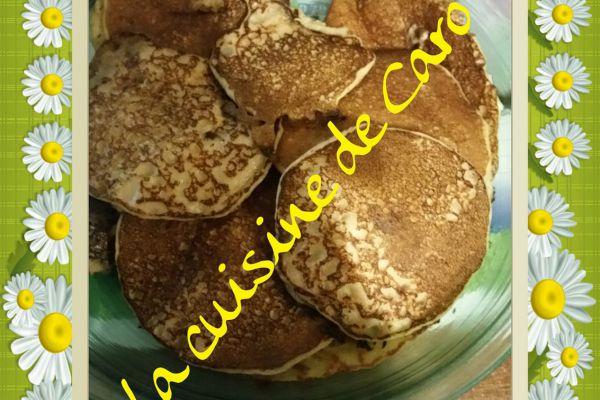 Pancake aux flocons d'avoine