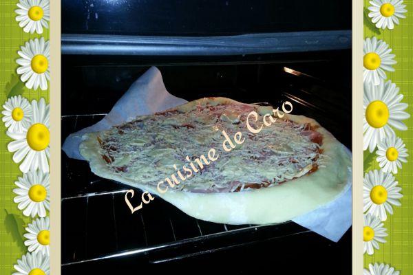 Recette pizza au merzer-bacon