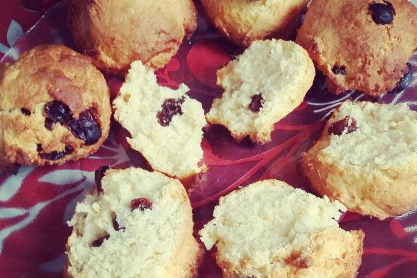 Recette scones aux raisins (Angleterre)