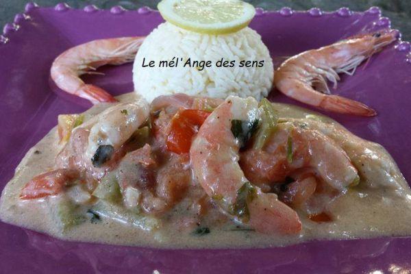 Recette Moqueca aux crevettes