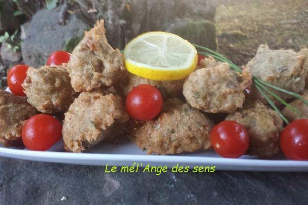 Recette Accras aux sardines et a la coriandre